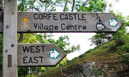 How to get to Corfe Castle