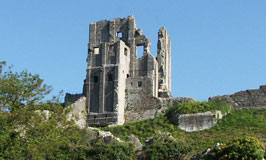 Corfe Castle, The Castle