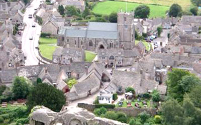 About Corfe Castle
